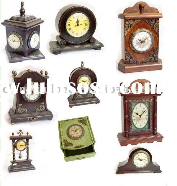 Fshion Wooden Wall Table Clock with many styles!!