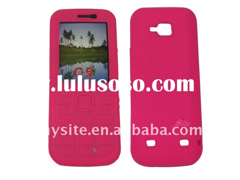 Full Set Cell Phone Silicon Case for Nokia C5