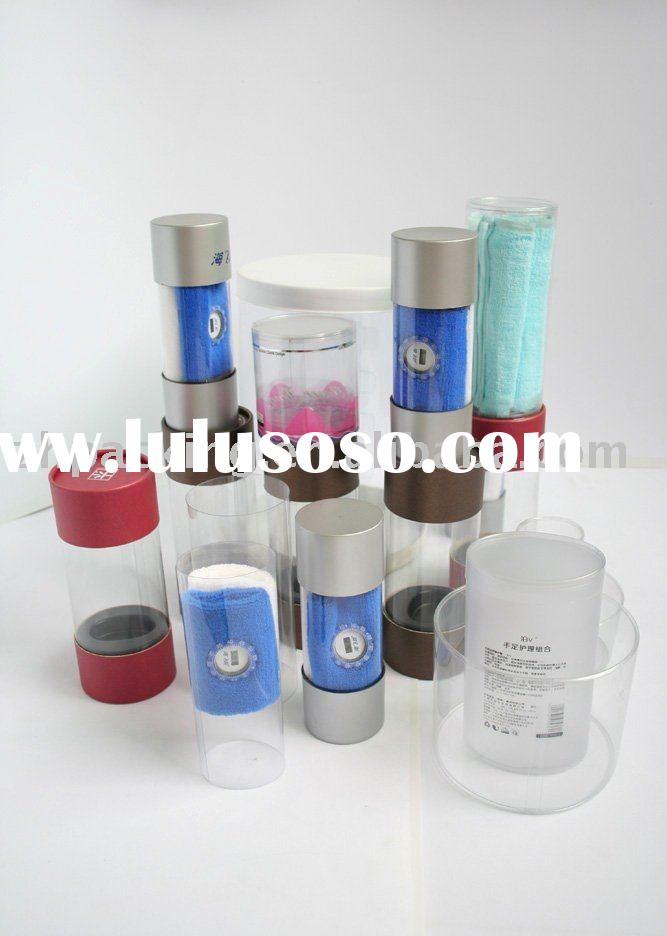 GH10-cylinder,round plastic box,with PP/PS/PET/PVC