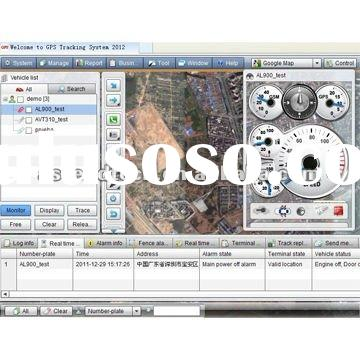 GPS Tracking Software for car tracker and personal locator