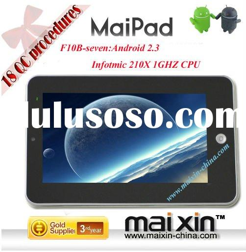 Google Android 2.3 Tablet PC Netbook MID, WiFi, Angry Birds, Kindle, Facebook, Youtube, Android Mark