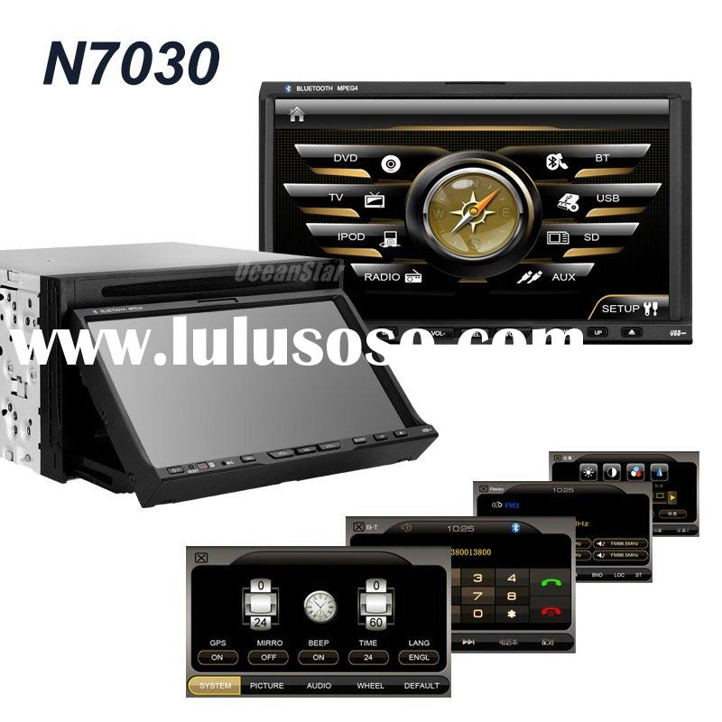 HD double-din car dvd player