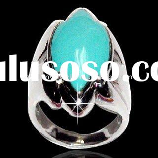 HOT! 2011 New Design jewelry 925 sterling silver Emerald Ring