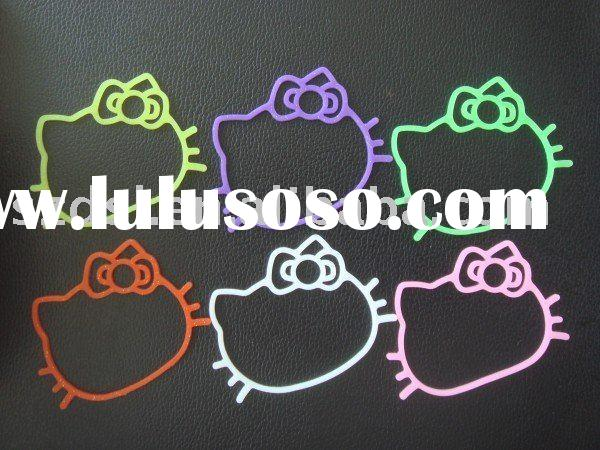 Hello kitty rubber Bands