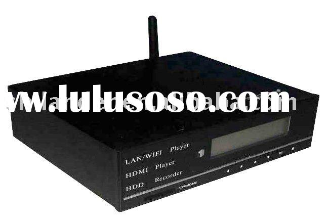 High Definition HDD Media Player 1080P TV Recorder