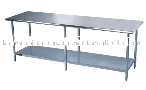 High quality Stainless steel restaurant kitchen table