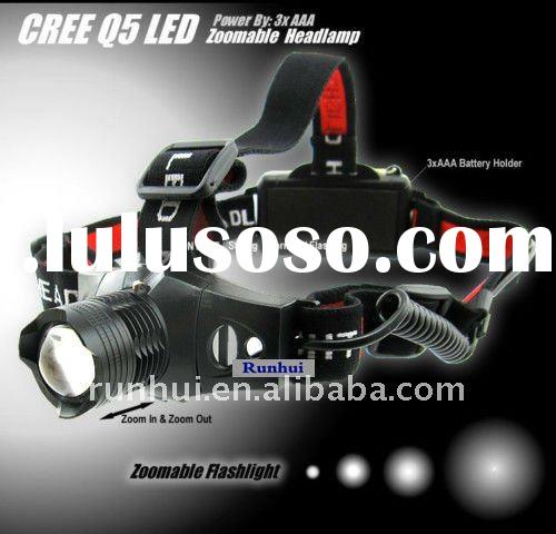 Hot Sale+ Zoomable LED Headlight 3 Mode Adjustable LED Headlamp