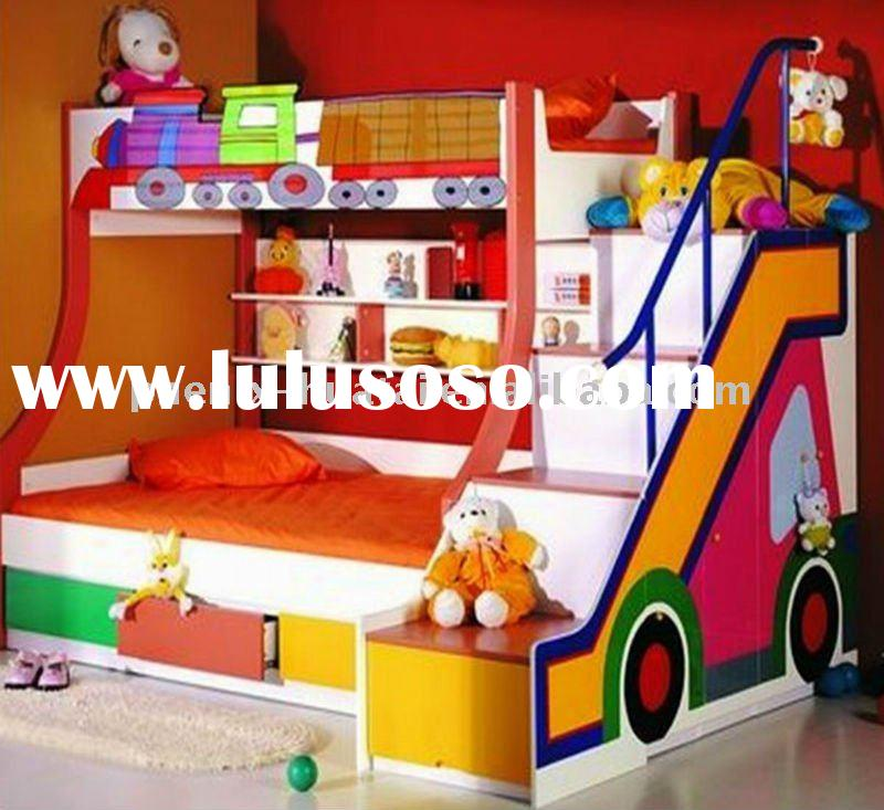 Hot sale MDF kids bunk bed