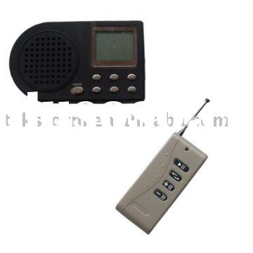 Hunting bird MP3/Bird caller with remote control