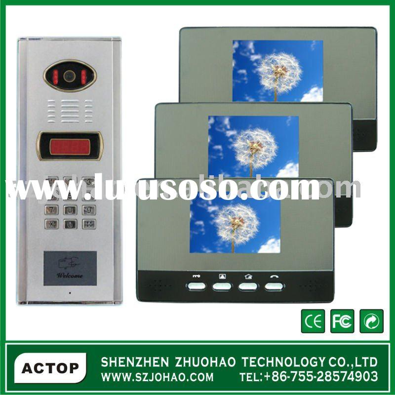 IP video door entry system for apartments