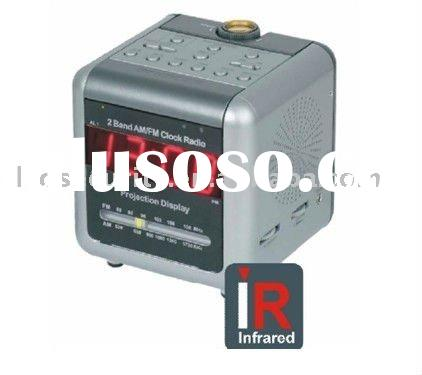 Infrared Full Overwrite Function/Remote Control Function 480TVL Clock and Radio Convert DVR Camera