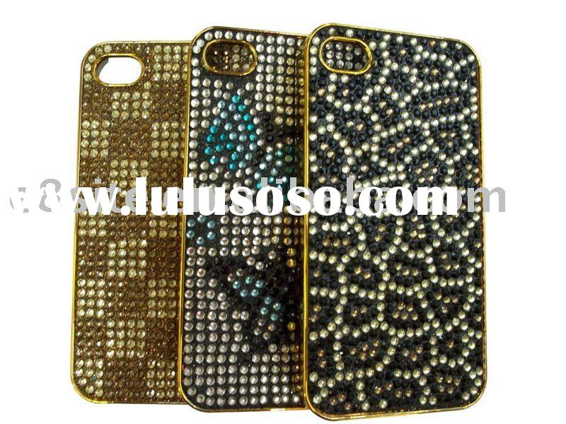 Jeweled Cell Phone Bling Case For iPhone 4