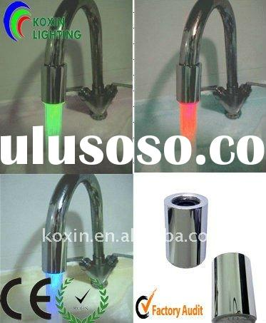 LED Change Colour Faucet Light(Without battery and power drivce)