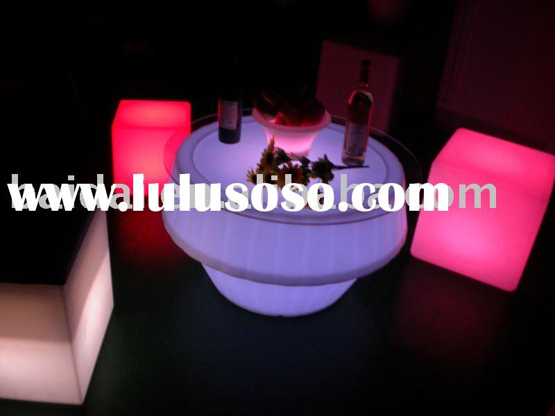 LED out-door bar table