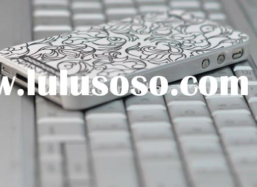 Laser engraving mobile phone PC case for Iphone4g,pc phone case
