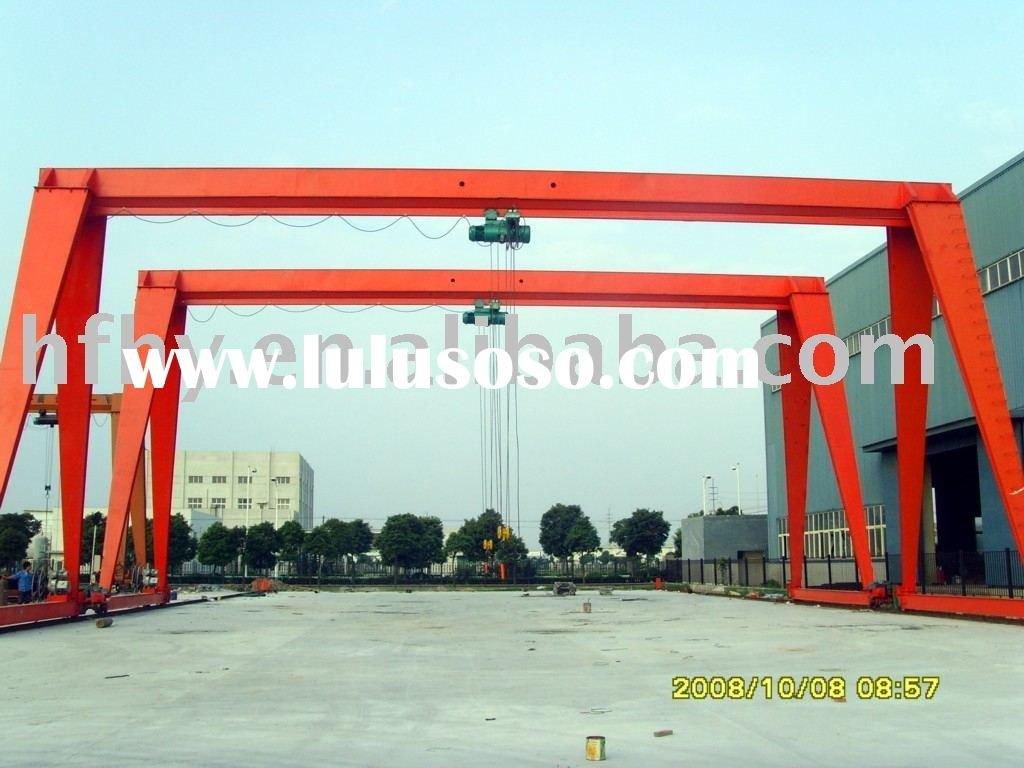 MH-type electric hoist Single Beam bridge / gantry cranes