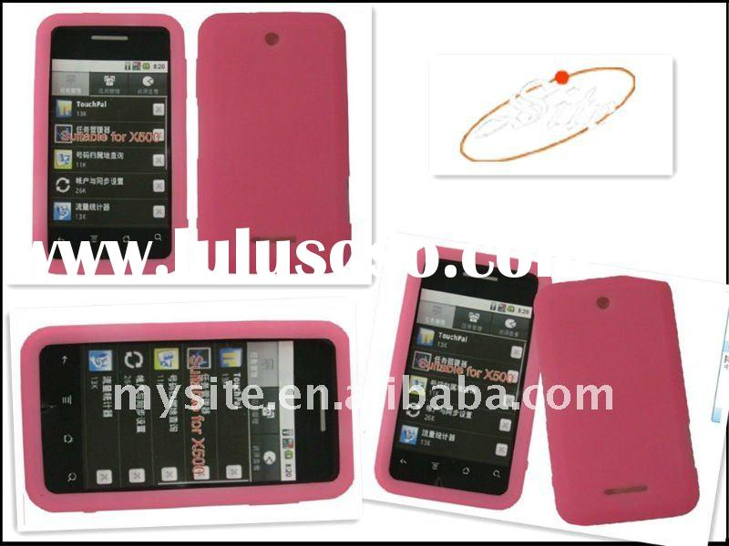 Make Design a Cell Phone Silicon Case Covers for ZTE X500 with New Design