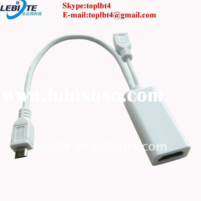 Micro USB male to female and HDMI cable with great stability