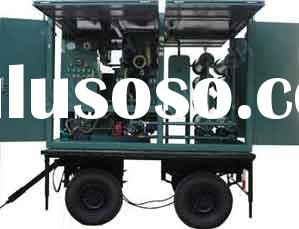 Mobile Type Transformer Oil Filteration Machine Mounted with Wheels