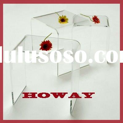 Modern Clear Acrylic End table,cheap acrylic coffee table,furniture coffee table,color acrylic coffe