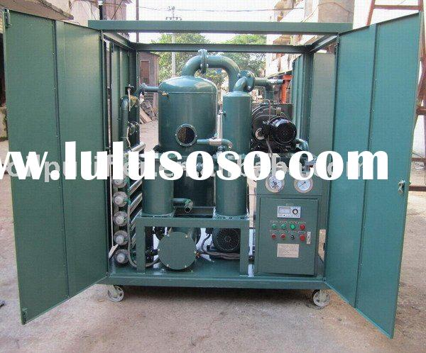 Moisture Removal Oil Filtration System,ZYD Transformer Oil Purifier,Oil Purification Plant