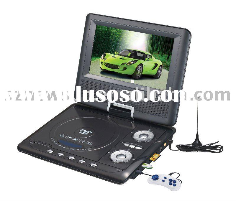 NS-768 7.5inch Portable DVD Player with battery