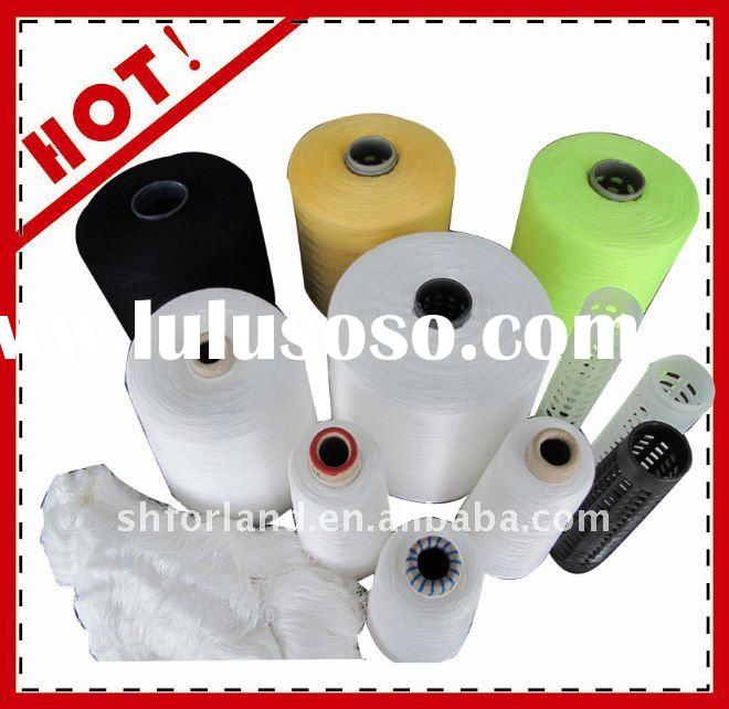 Ne 50/2 colors for sewing thread 100%polyester yarn dyed fabric