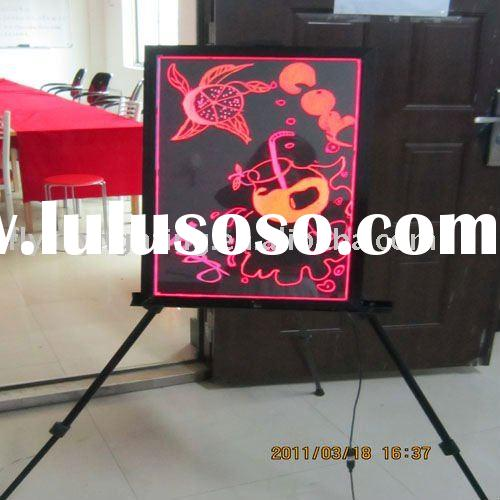 New Technology Products for 2010 Fluorescent LED Writing Board ali express
