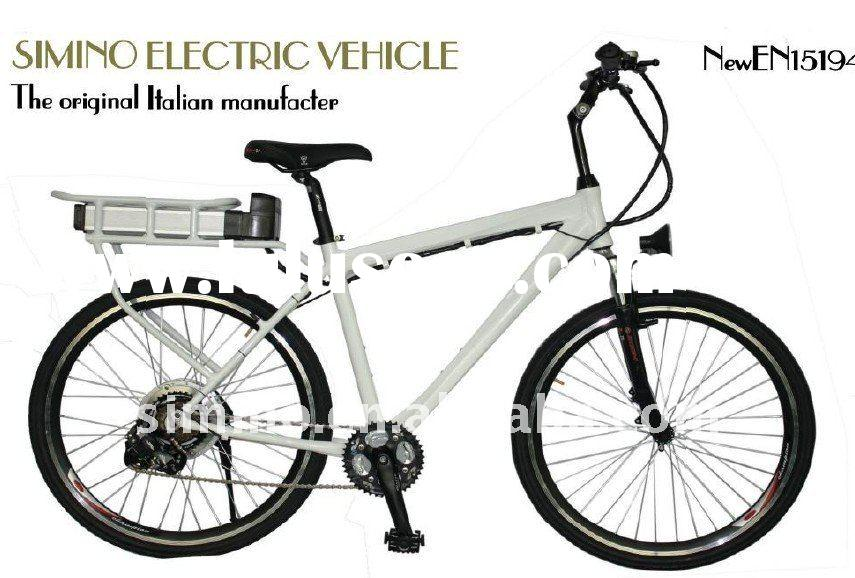 New power 500w brushless motor electric bicycle