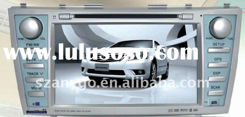 Newest toyota camry car dvd gps with bluetooth fm all function