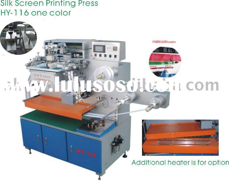 One Color Automatic Label Screen Printing Press