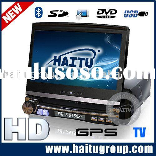 One din DVD player + built in GPS&TV&Bluetooth