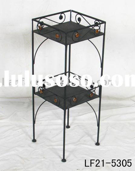 Outdoor Furniture Metal Plant Holder Iron Flower Stand