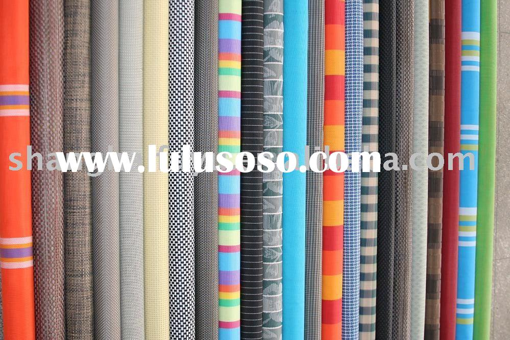 Outdoor fabric - PVC coated polyester mesh