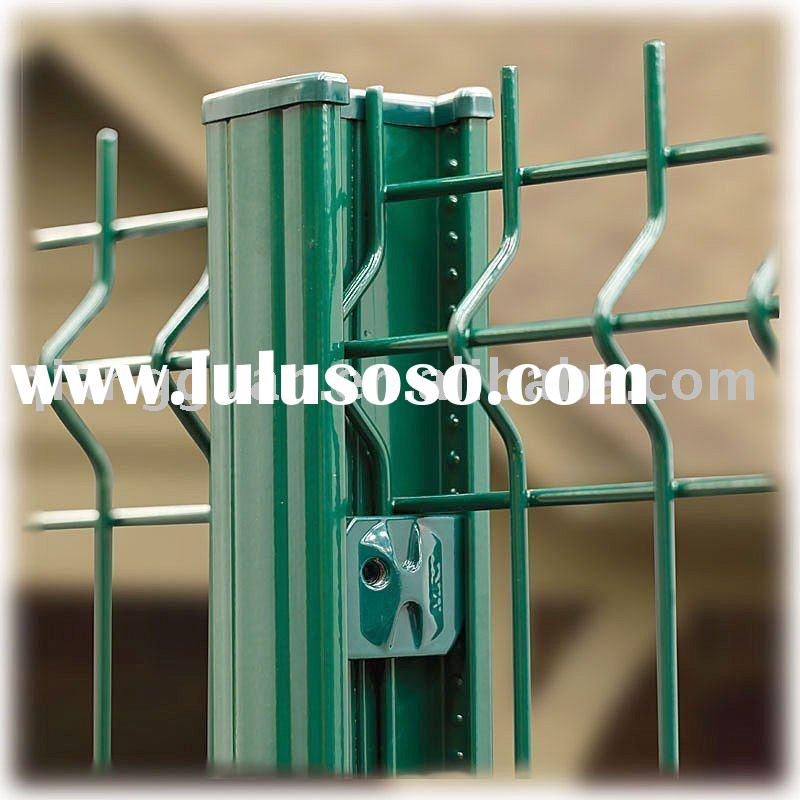 PVC coated Wire Mesh Fence,Hardware & Building Materials Fair (Booth No:6E09) in Dubai UAE