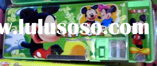 Power Seller + Mickey Mouse Pencil box /stationery case A403 on sale wholesale & drop shiping