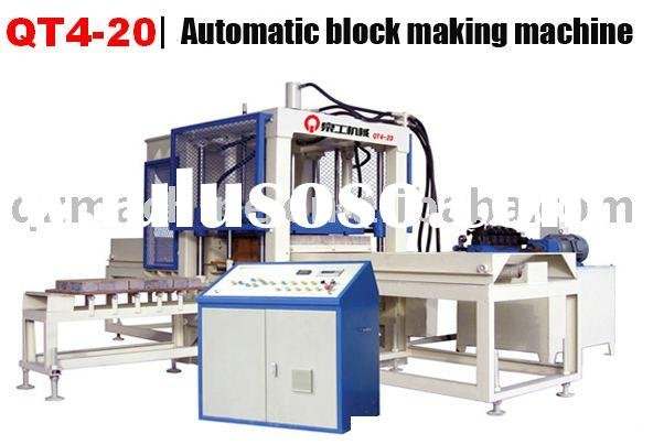 QT4-20 used concrete block making machine