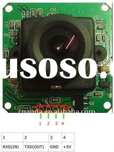 RS232 Serial Interface CCD camera module rs232 CCD camera