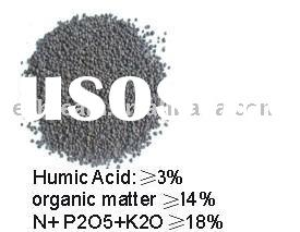 Refine Humic Acid Organic Fertilizer(Granular) NPK