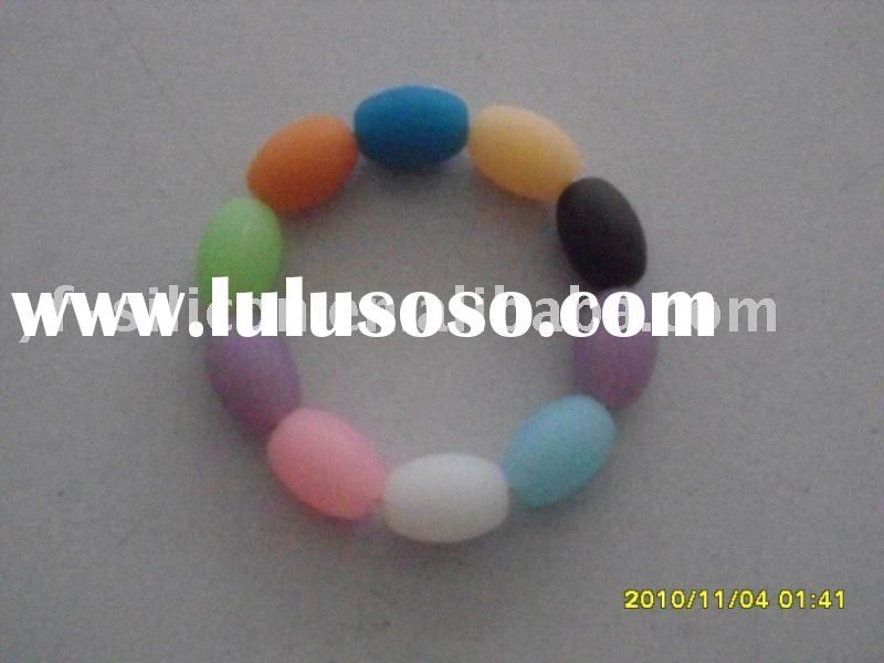 Silicone soft beads