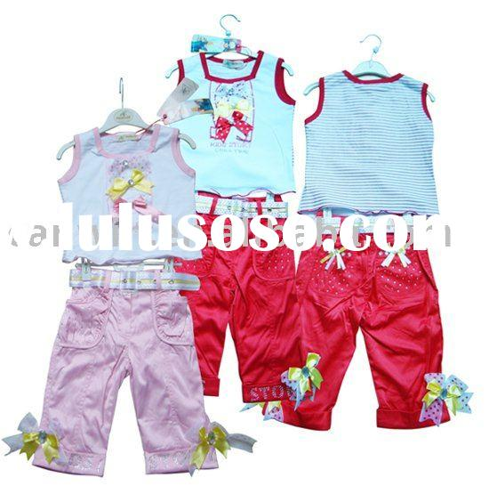 Stock, children set,children suit, children cloth