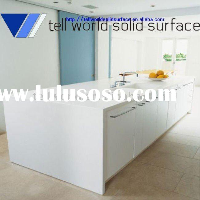 TW solid surface acrylic stone countertop for kitchen