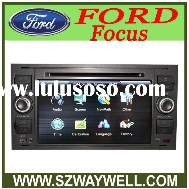 Touch screen HD Car DVD player Radio with GPS FOR FORD FOCUS 2004-2007