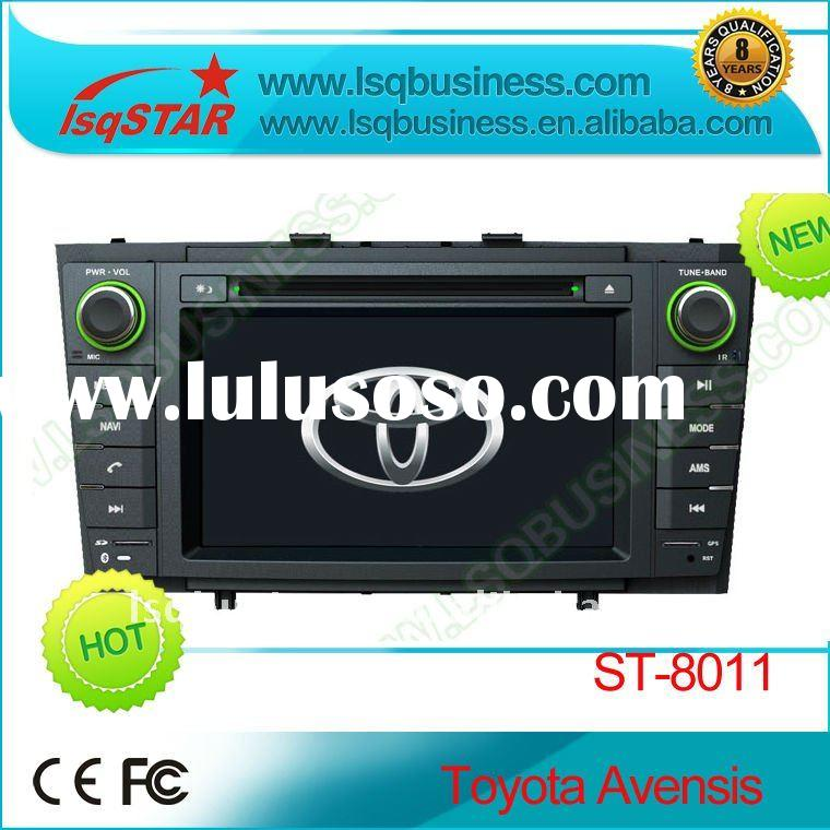 Toyota Avensis car DVD player with GPS, steer wheel control, RDS, FM, TV, SD, USB, bluetooth..
