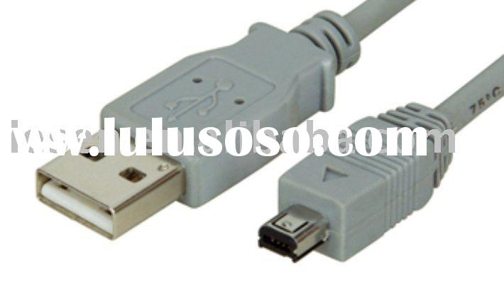 USB cable am to mini 4 pin data cable computer cable