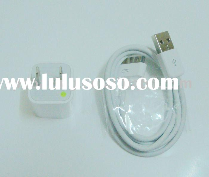 US Mini USB charger + USB Data cable for ipod iphone 3g 4g