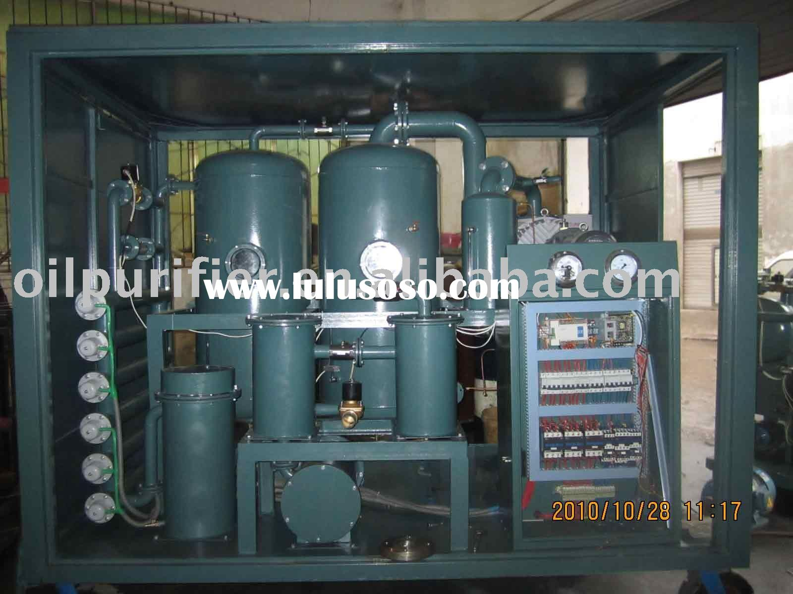 Used Vegetable Oil Purification Machine Series TYC-D For Producing The Biodiesel