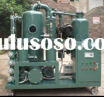 Vacuum Transformer Oil Filtration with Regeneration Device