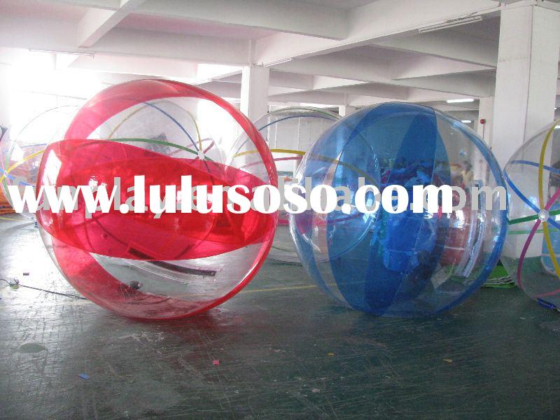 Water walker,walking ball,water ball with size 1.8m,2m,2.5,3m TPU material CE certificate