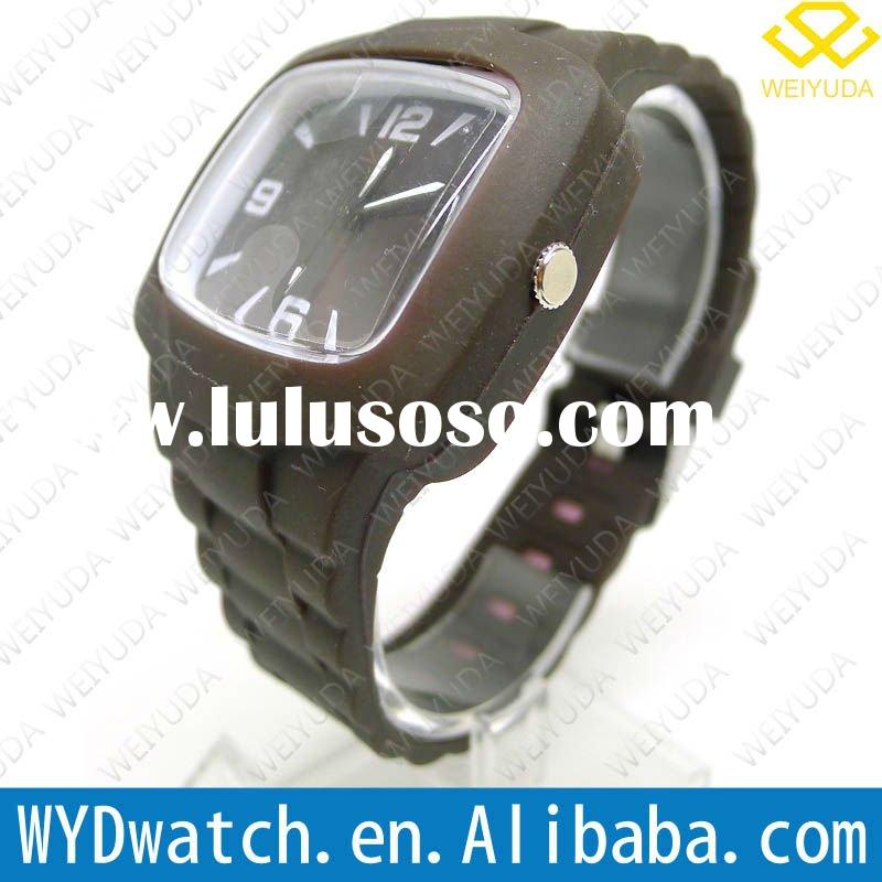 Wholesale 2012 slip-resistant adjustable band replica watch winner